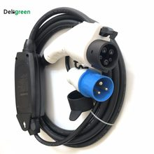 Duosida Rapid EV Car charger 16A Level1 250v Portable Blue cee Plug Mode1 DC Ev charging Cable for Nissan leaf/yotaka(China)