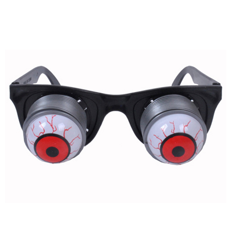 New Funny Glasses Spring Drop Eyeball Eyeglasses Halloween Masquerade April Fools Day Joke Spectacles Toys For Adult & Kids L2