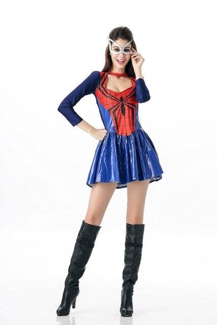 Sexy spidergirl costume