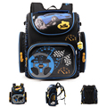 Brand Children School Bags for Boys Orthopedic Backpack Cartoon Cars or Planes Schoolbag Kids Satchel Mochila Infantil Grade 1-5