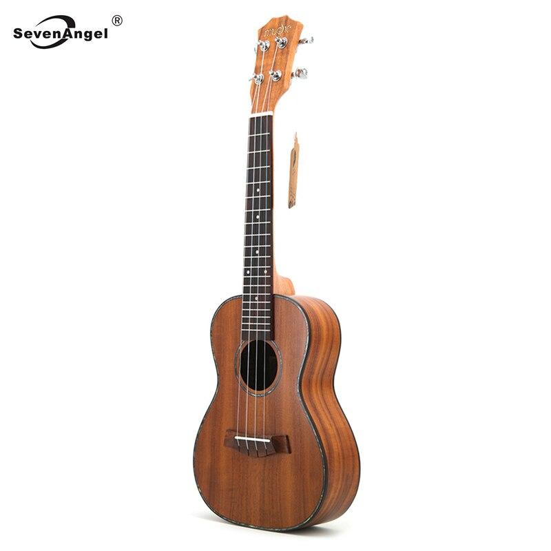 Concert ukulélé 23 acoustique petite guitare 4 cordes KOA doux Acacia Uke palissandre Fretboard électrique Ukelele avec ramassage EQ