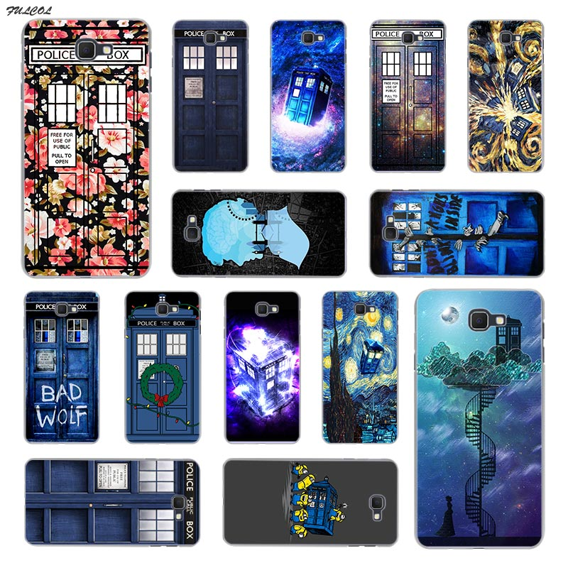 Phone Bags & Cases Cheap Sale Webbedepp Selling Doctor Who Van Gogh Tardis Hard Transparent Phone Case For Samsung A10 A30 A40 A50 A70 M10 M20 M30 Cover