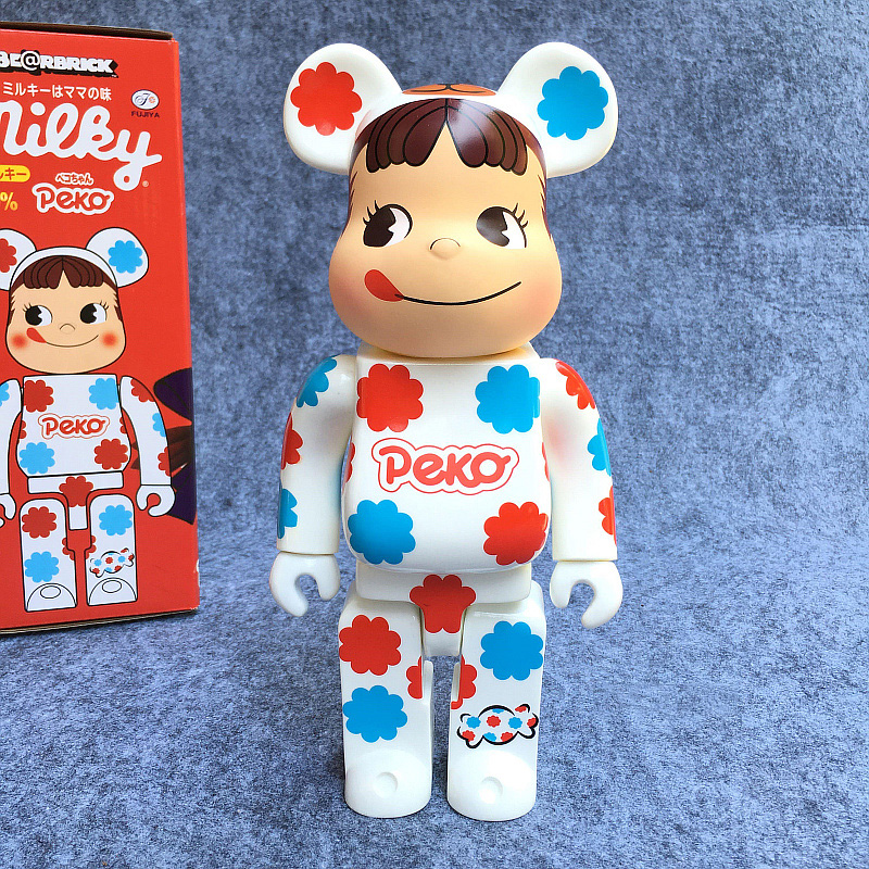 New Arrival 400% Bearbrick PEKA milky sister , Joker, Care bear winnie etc 28CM in retail box, Various style for yor selection