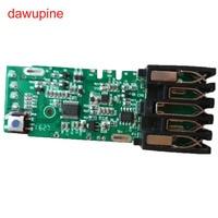 M18 placa de circuito de proteção de carregamento da placa do pwb da bateria para milwaukee 48 11 1815 m18 18 v 1.5ah 3.0ah 5ah 6ah bateria|m18 battery|milwaukee electricboard board -