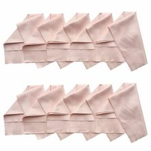 10-Pcs Microfiber Cleaning Cloth For Camera Optical Lens, Glass, Cell Phone, LCD TV / Computer Screen / Monitor B350-2(China)
