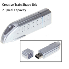 New arrive Gadget Train USB Drive Real Capacity 4GB/8GB/16GB/32GB/64GB USB 2.0 Flash Drive Subway USB Memory Stick