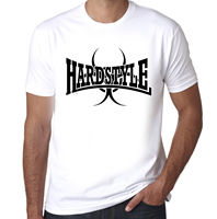 Hardstyle Bio Hazard Clubbing Raving Mens Cotton hard trance printed t shirt Comfortable t shirt,Casual Short Sleeve TEE