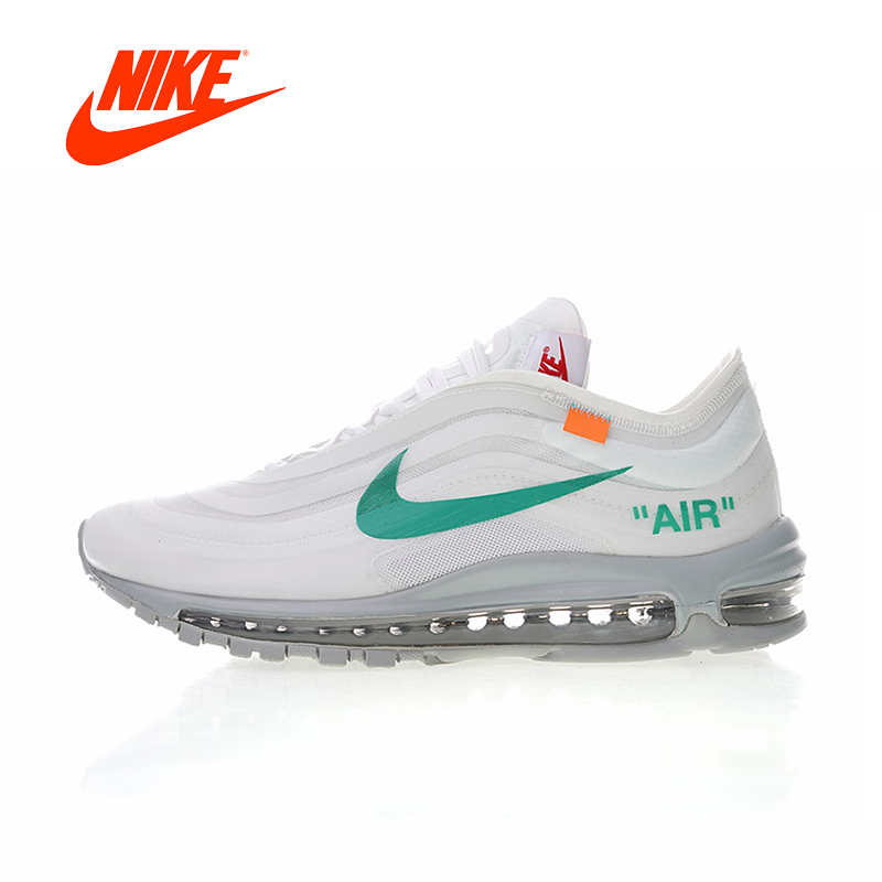 Original New Arrival Authentic Off White x Nike Air Max 97 Menta Men's Running Shoes Sport Sneakers Good Quality AJ4585-101 original new arrival authentic off white x nike air max 97 menta men s running shoes sport sneakers good quality aj4585 101