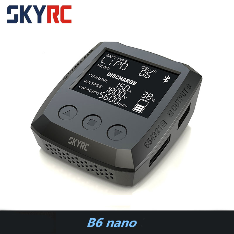 SKYRC B6 nano LiPo Battery Charger Discharger 15A/320W DC 9-32V Mini Charger for LiFe/ Lilon/ LiPo/ LiHV/ NiMH/ NiCd/ PB BatterySKYRC B6 nano LiPo Battery Charger Discharger 15A/320W DC 9-32V Mini Charger for LiFe/ Lilon/ LiPo/ LiHV/ NiMH/ NiCd/ PB Battery