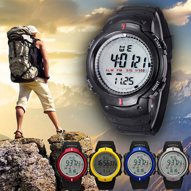 GEMIXI Watches Men's Digital Outdoor Waterproof New-Brand Quartz Boy Sports Men Mountaineering title=