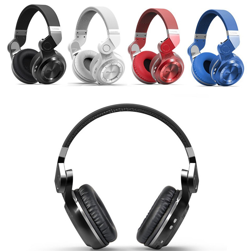 CHICLITS Wireless Bluetooth Headphones T2 Plus V4.1 Stereo Bass Foldable / Stretchable Music Headset Support FM Radio/TF Card ks 508 mp3 player stereo headset headphones w tf card slot fm black