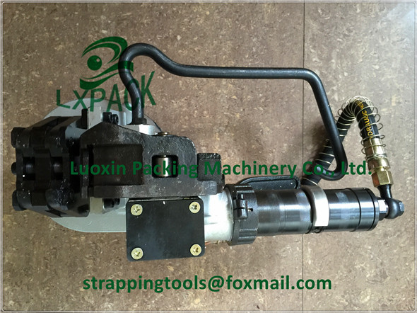 LX-PACK brand PNEUMATIC STRAPPING TOOLS FOR STEEL STRAP FLAT AND ROUND SURFACES PNEUMATIC STRAPPING TOOL FOR STEEL STRAP lx pack brand lowest factory price pneumatic combination steel strapping tools strapping machines and tools bestop hand tools