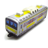 Classic Vintage Clockwork Subway Train Wind Up Reminiscence Children Kids Tin Toys With Key Fun Toy