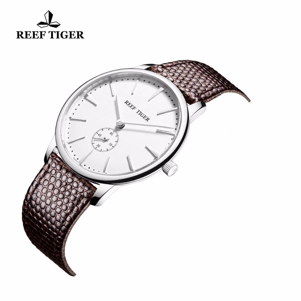 Reef Tiger / RT қарапайым стильді кварц - Ерлердің сағаттары - фото 3