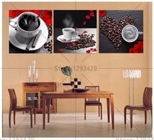 Diamond Painting Cross Stitch Pattern 5d Embroidery Coffee 3pcs diamond Mosaic Resin Home Decor DIY art