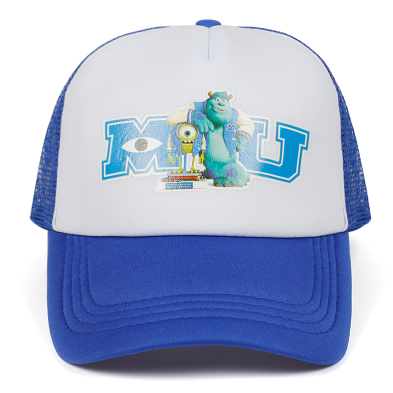 2020 Monsters University Sulley Mike Baseball Caps Mu Truck Cap Letter Oeppeo Master Of Caps Hats