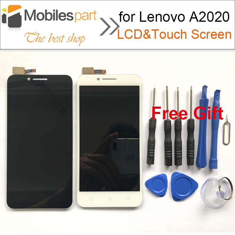 for Lenovo Vibe C A2020 LCD Screen Top Quality AAA no Dead Pixel LCD Display +Touch Screen for Lenovo Vibe C A2020 5.0inch аксессуар чехол lenovo k10 vibe c2 k10a40 zibelino classico black zcl len k10a40 blk