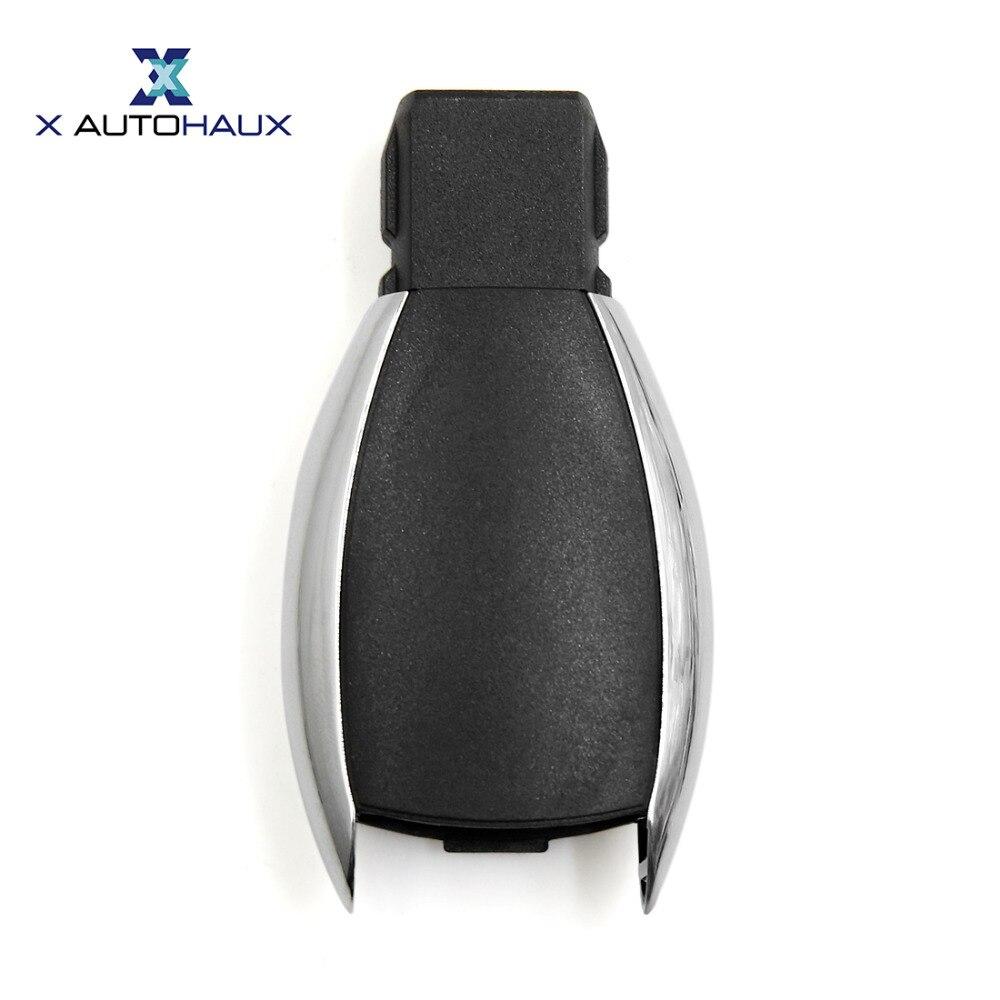 X autohaux 3ボタンキーフォブリモコンケースシェル交換用メルセデス-ベンツcls/メルセデスclk ml/メルセデスbクラス