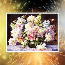 40x50cm Diamond Embroidery 5D DIY Painting Beuetifu Flower Cross Stitch Full Rhinestone Mosaic  Gift
