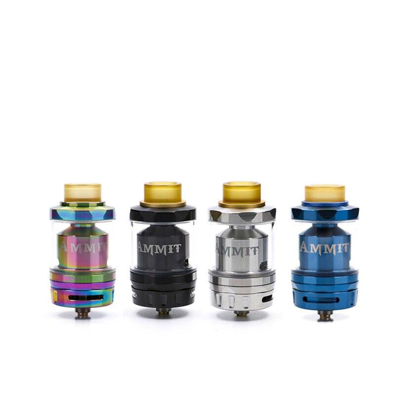 Grande vente GeekVape Ammit Double Bobine RTA atomiseur e-cigarette reconstructible RDTA haut de remplissage vaporisateur réservoir pour ijoy capitaine pd270 mod