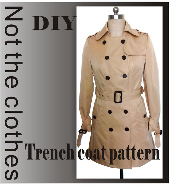 McCall Muster Kleidung DIY Mantel Nähen Muster Mantel Nähen Vorlage ...