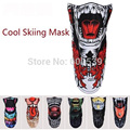 New Arrival Ski Snowboard Motorcycle Winter Warmer  Sport Full Face Mask Pirates 3D Printed Triangular Scarf Skiing Mask