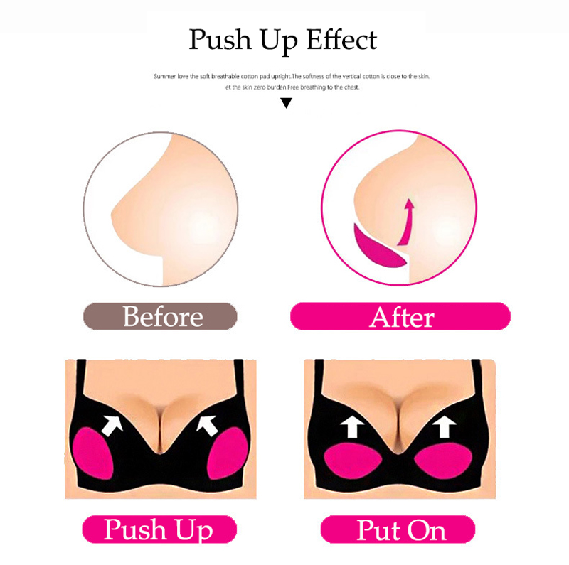 HTB1Vei9Cv9TBuNjy0Fcq6zeiFXap RUUHEE Sexy Bikini Push Up Padded Swimsuit Bikini Small Bust Thick Breathable Sponge Bra Pad Breathable Invisible Paste Padding