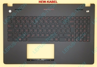 SK Slovak Keyboard With Backlight For ASUS G56 N56 N56VB N56VJ N56VM N56VZ Top Cover Upper Case Palmrest 90NB03Z3 R31SK0 Black