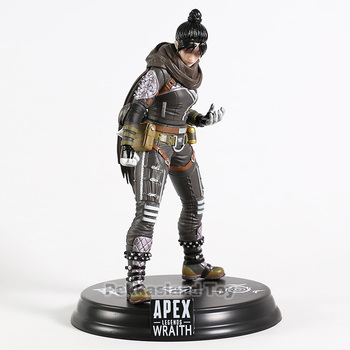 Hot Game Apex legends Wraith / Bloodhound PVC Figure Collectible Model Decoration Toy 2