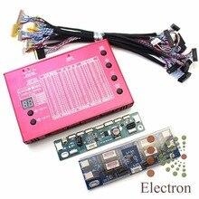 Ноутбук ТВ LCD/LED Панели Тестера Алюминиевый Корпус для 7-84 «экран Встроенный 100 Программ w/LVDS Кабели и Инвертора и СВЕТОДИОДНЫЕ Табло
