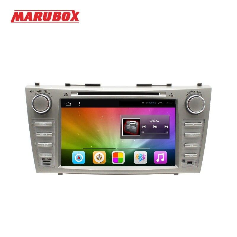 Lecteur multimédia de voiture MARUBOX 8A101DT8 pour Toyota Camry 2006-2011, 2 go de RAM, 32G, Android 8.1, 8 '', 1024*600, GPS, DVD, Radio, WiFi