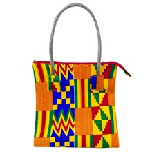 African bag women High Quality Traditional Ankara print Cotton Wax Prints african Woman Bag