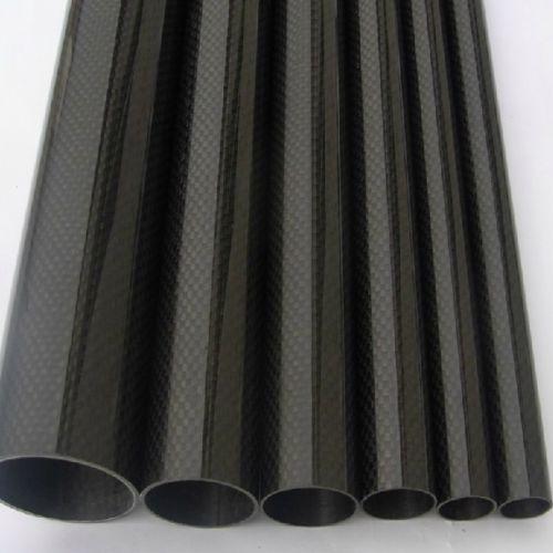 ФОТО 2pcs Roll Wrapped Carbon Fiber Tube 3K 18mm*20mm*1000mm Worldwide Glossy