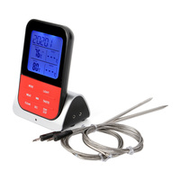 Electronic Digital Thermometer With Probe for Meat Water Milk Cooking BBQ Oven Temperature Display Kitchen Tool 2018ing