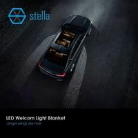 Autos LED laser willkommen lampe licht decke passt alle autos LED auto-tür-licht projektor schatten unterboden 1 jahr garantie
