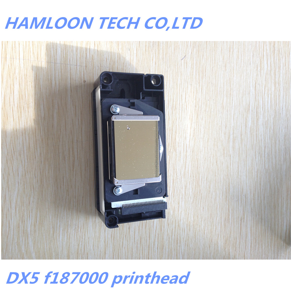 US $1053 0 |F187000 Unlocked Printhead DX5 Gold Face Print Head For Epson  Stylus Pro 4880 7880 9800 9880-in Printer Parts from Computer & Office on