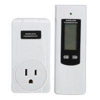 LEORY RF433MHz Temperature Remote Control LCD Wireless Temperature Thermostat With Alarm Function Controller EU UK US
