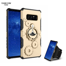 Фотография TIANSTON Luxury Case for Samsung Galaxy Note 8 S8 plus Cover Carcasa with Sports Armlet Ring Holder Hard Protective Coque Fundas