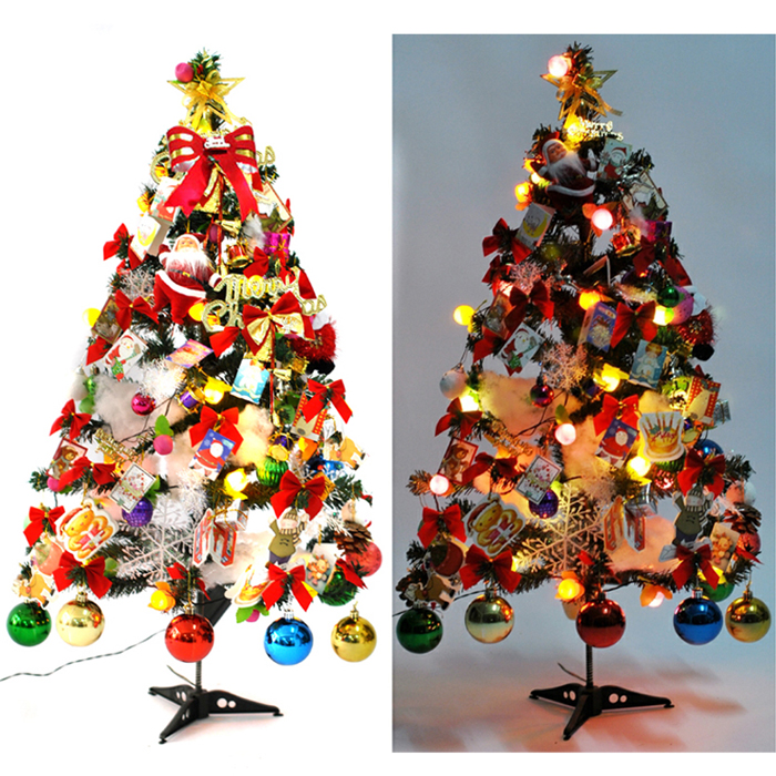 professional wholesale 2pcslot 90cm luxury christmas tree christmas gifts christmas decoration supplies festival decorations in christmas from home - Luxury Christmas Decorations Wholesale
