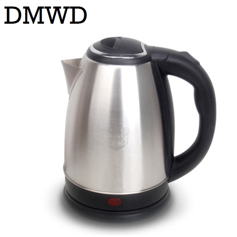 87abe4e9f DMWD 110V 1.8L Electric Kettle hot water heating tea pot Travel boiler MINI  Cup Portable. sku  32835644954
