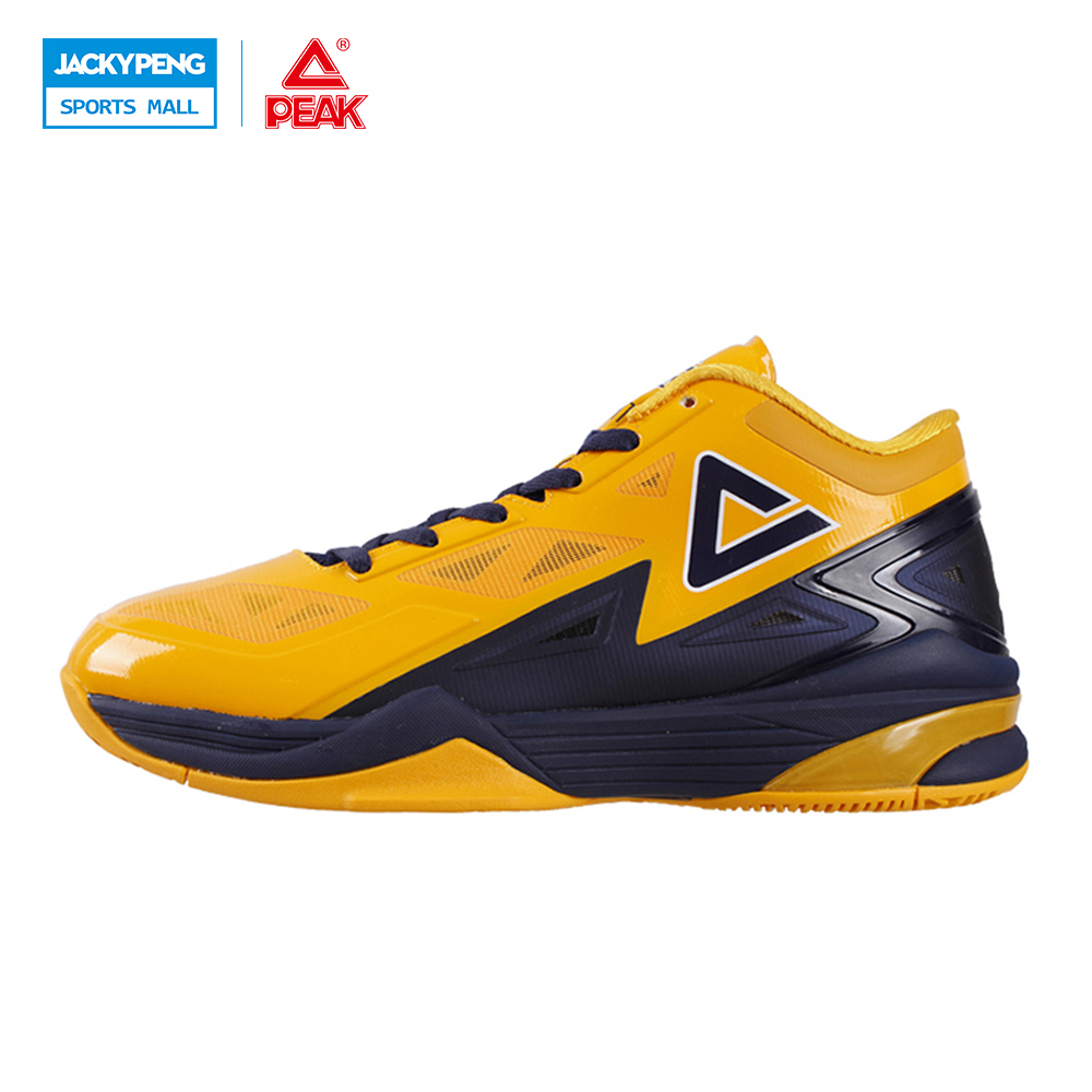 PEAK SPORT Lightning II Men Basketball Shoes Breathable Athletic Boots FOOTHOLD Cushion-3 Tech Competitions Sneakers EUR 40-50 peak sport star series george hill gh3 men basketball shoes athletic cushion 3 non marking tech sneakers eur 40 50