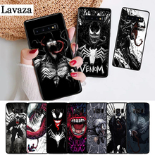 Lavaza Marvel Venom Villain Silicone Case for Samsung S6 Edge S7 S8 Plus S9 S10 S10e Note 8 9 10 M10 M20 M30 M40