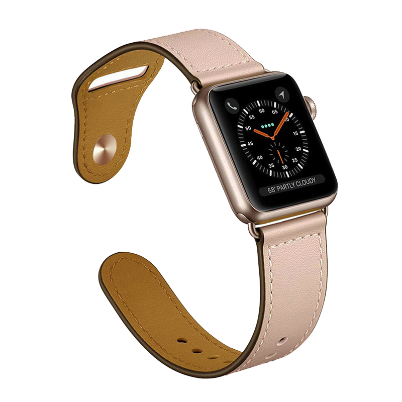 Genuine leather loop strap for apple watch band 4 44mm 40mm 42mm 38mm bracelet watchband for iwatch correa 4/3/2/1 accessoriesGenuine leather loop strap for apple watch band 4 44mm 40mm 42mm 38mm bracelet watchband for iwatch correa 4/3/2/1 accessories