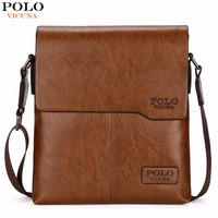 VICUNA POLO Classic Famous Brand Men Bag Vintage Style Casual Men Messenger Bags Promotion Mens Shoulder