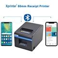 80 мм Термопринтер для чеков, POS-принтер, USB, Bluetooth, Ethernet-порт с поддержкой автоматического резака, порт для Android, iOS, планшета, iPad