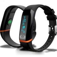 Новый Интеллектуальный Спорт X12 Смарт-Группы Heart Rate Monitor Фитнес-Трекер Bluetooth Браслет Шагомер Браслет для iOS Android