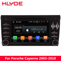 KLYDE 7 4G WIFI Octa Core PX5 Android 8.0 4GB RAM 32GB ROM BT Car DVD Player Radio GPS Navigation For Porsche Cayenne 2003 2010