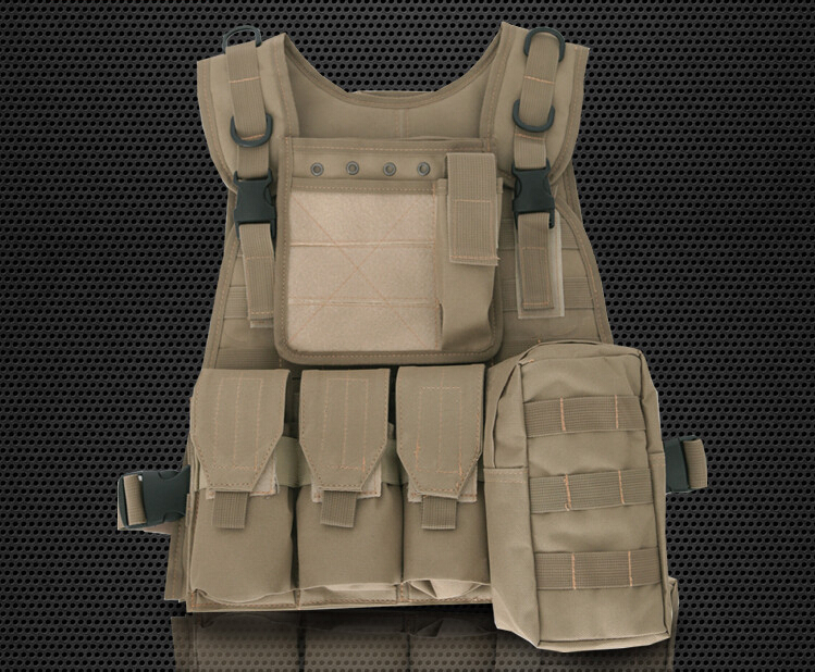 Amphibious combat vest module MOLLE system Tactical vest CS outdoor field protection hunting vest
