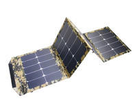 60W Foldable Solar Cells Charger Backpack Sunpower Solar Panel Charger with Dual USB for Mobile Phone Solar Battery