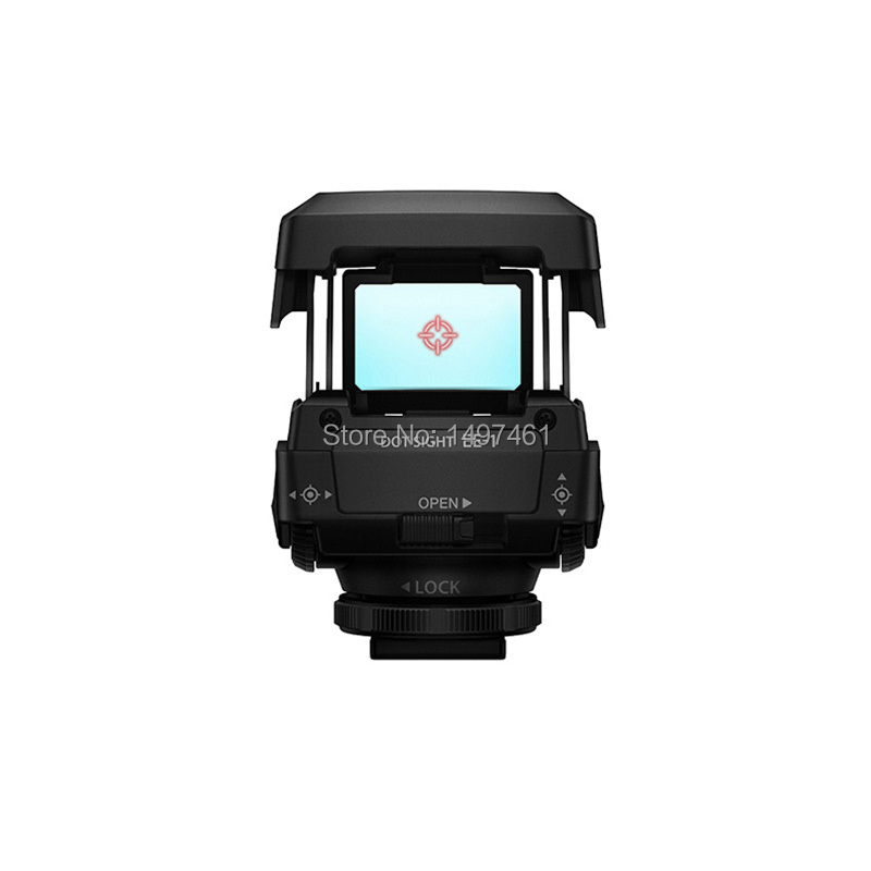Rouge point DOT SIGHT EE-1 ee1 pour Olympus Pen-F E-PL7 E-PL8 E-PL9 OM-D E-M1 E-M5 E-M10 II IIII caméra (Compatible Avec Hot shoe)